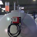 Mechanische Pumpe am Diesletank